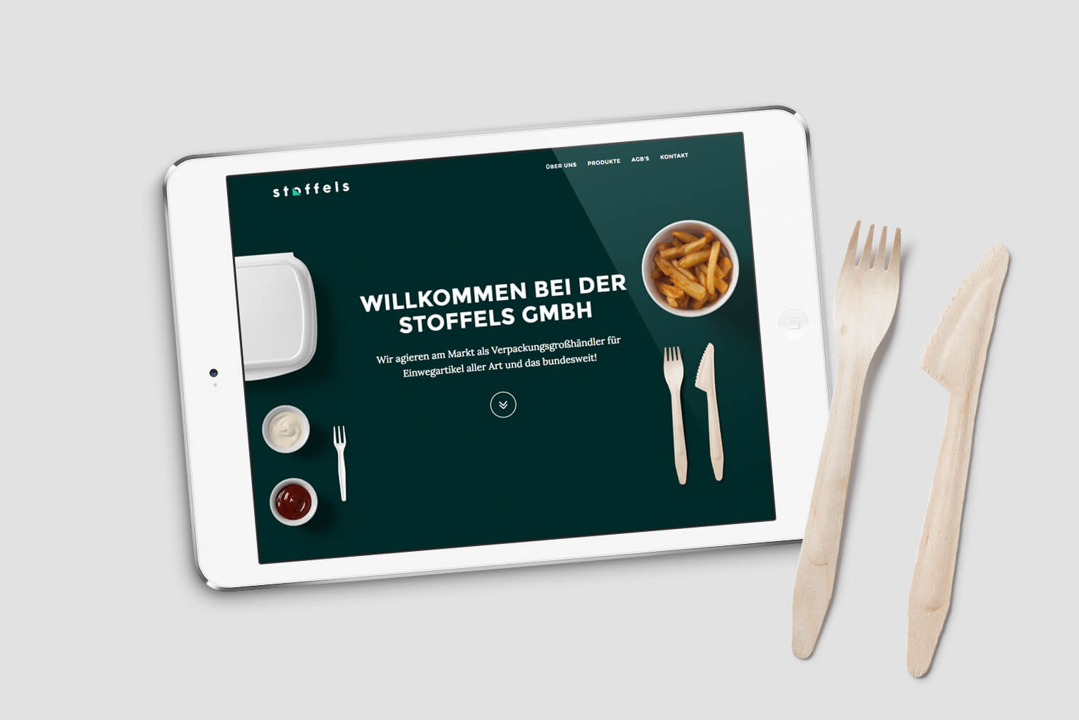 Stoffels GmbH Website